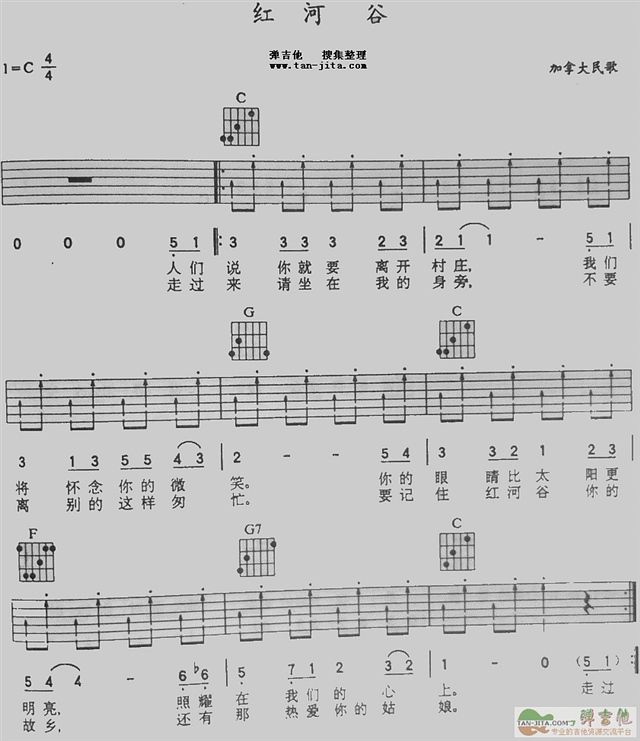 吉他初学者对吉他谱的一些疑问