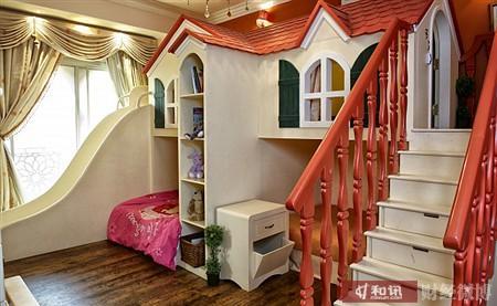 微博-城堡型儿童房